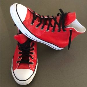 Converse Shoes - Barneys NY 'BNY Sole Series' CONVERSE RED HIGH TOP